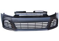 Frontbumper JOM Sport-Look, incl. grill, for cars with headlamp cleaning device , incl, DRL E-marked passend für VW Golf 6 mit SRA