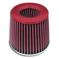 Filtru aer sport Power- Filter, universal, 60,70,76,84 and 90mm, cu Rosu lid