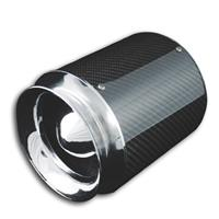 Filtru aer sport Power- Filter, Carbon/Chrome, universal, 60,70,76,84 and 90 mm