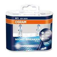 OSRAM H1 NightBreaker Night Breaker PLUS +90% 2er Set, 12V/55W