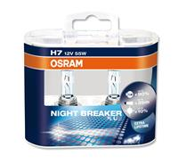 OSRAM H7 NightBreaker, Night Breaker PLUS +90% 2er Set, 12V/55W
