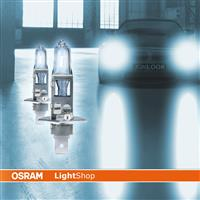 H1 12V/55W Osram Halogenlampe Cool Blue Intense 4200 K Duobox