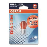12V  PR21/5W Osram Diadem Red single blister, BAW15D, for break and position lamp