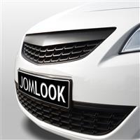 Grila JOM, Opel Astra J 09-, fara semn, neagra