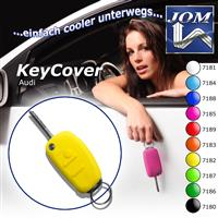 Key cover, yellow, for Audi A1 10-, A3 05-, A4 04-, A4 Cabrio 06-, A6 04-, Q7 05-, TT 06-, R8 07-, silicon Audi A1 10-, A3 05-, A4 04-, A4 Cabrio 06-, A6 04-, Q7 05-, TT 06-, R8 07-