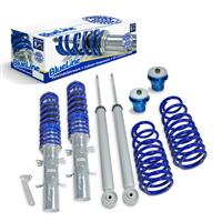 Coilover suspension kit, JOM BlueLine, Seat Leon/ Toledo (1M), thread  / spring