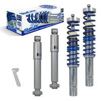 Coilover suspension kit, JOM BlueLine, Peugeot 206 8.98- incl. Kombi 02-, thread  / torsion bar
