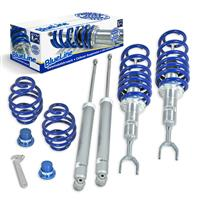 Coilover suspension kit, BlueLine, FA 40-60 / RA 30-60 MM, thread  / spring Audi A6 (4B) inklusive Avant ohne Quattro Bj. 04.97-04