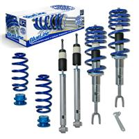 Coilover suspension kit, BlueLine, FA 30-60 / RA 40-60 mm, thread/spring Audi A4 (8e) Quattro 1.8T/ 3.0/ 1.9TDI/ 2.5TDI ohne Niveauregulierung/ Sport