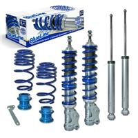 Coilover suspension kit, JOM BlueLine, Seat Arosa (6H) 1.0/ 1.4/ 16V/ TDi/ 1.7SDi, 97-, thread/spring