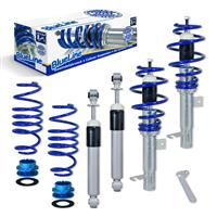 Blueline coilover kit, Mazda 2 DY/B2W 1.25/1.4/1.6/1.4CD 03-07, thread/spring passend für Mazda 2 DY/B2W 1.25/1.4/1.6/1.4CD 03-07
