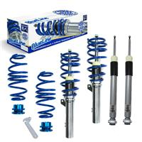 BlueLine Coilover suspension kit, Golf 7 Limo/ Sportsvan (AU/AUV) 1.6 TDI/ 1.8 TSI/ 2.0 TDI/ Gti/ GTD, 2012-, only for independent rear suspension, thread/spring passend für VW Golf 7 Limo/ Sportsvan (AU/AUV) 1.6 TDI/ 1.8 TSI/ 2.0 TDI/ Gti/ GTD, 2012-