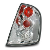 Set stopuri, LED, Skoda Fabia 01-, clar/crom