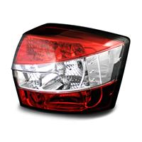 Set stopuri, LED, Audi A4 B6 01-04, clar/Rosu