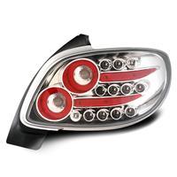 Set stopuri, LED, Peugeot 206 98-, 2/4 usi, clar/crom