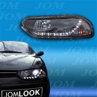 Faruri, DRL Design, Alfa Romeo 156 10.97-06.03, clar/negru