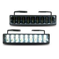 Lumina de zi DRL, 18 Piranha LEDs, negru