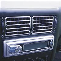 Grilaj aerisire, crom , for VW Polo 6N, 94-04.97, 4 bucati