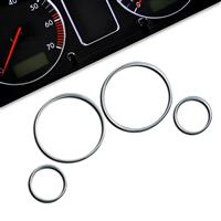 Gauge frames, chrome, for Opel Astra G passend für Opel Astra G