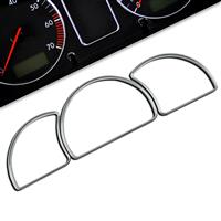 Gauge frames, chrome, for Opel Astra F passend für Opel Astra F