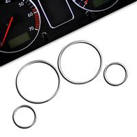 Gauge frames, chrome, for BMW E39, 4 pieces passend für BMW E39
