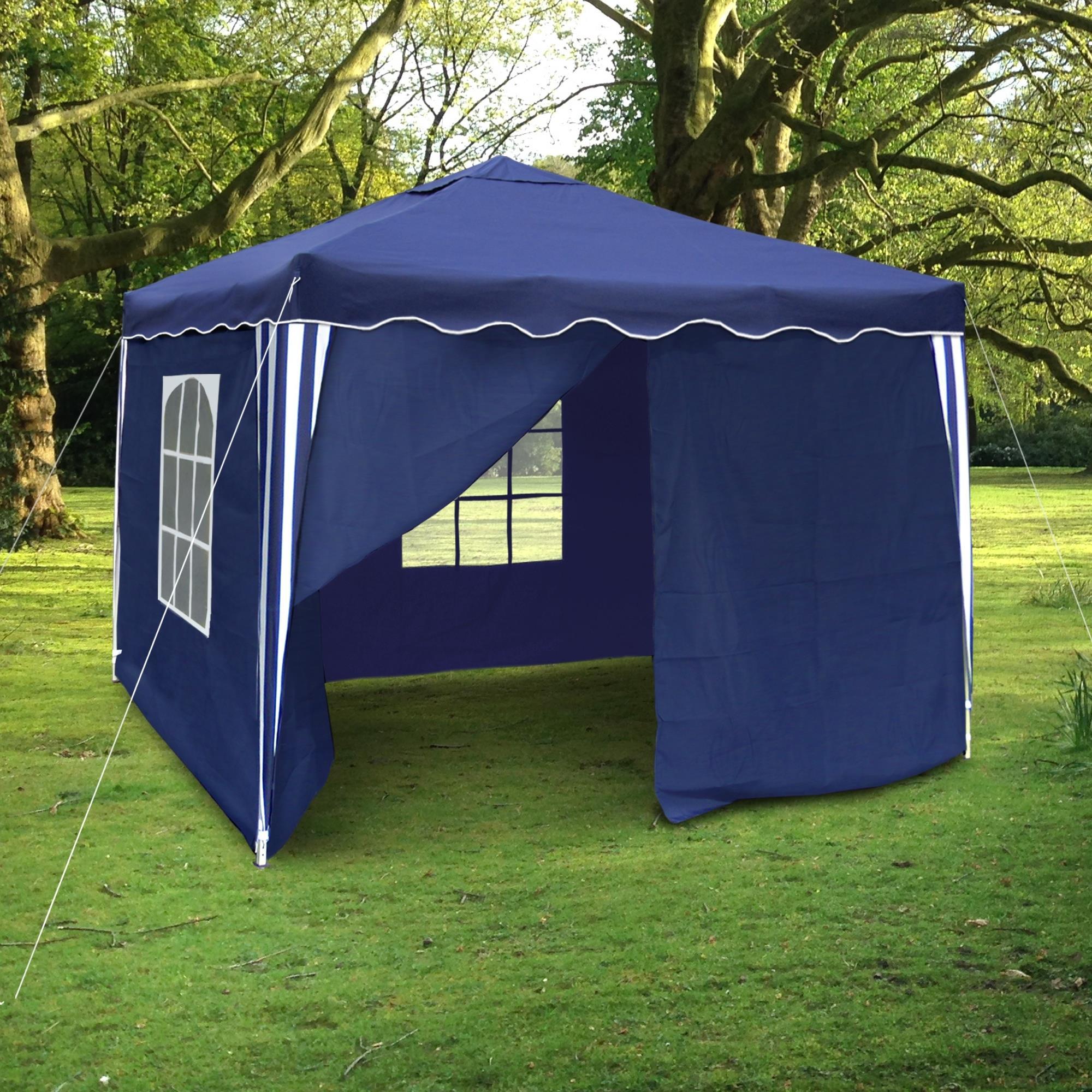 3x3 m falt pavillon garten party bier pavillion zelt blau rot beige schwarz ebay. Black Bedroom Furniture Sets. Home Design Ideas