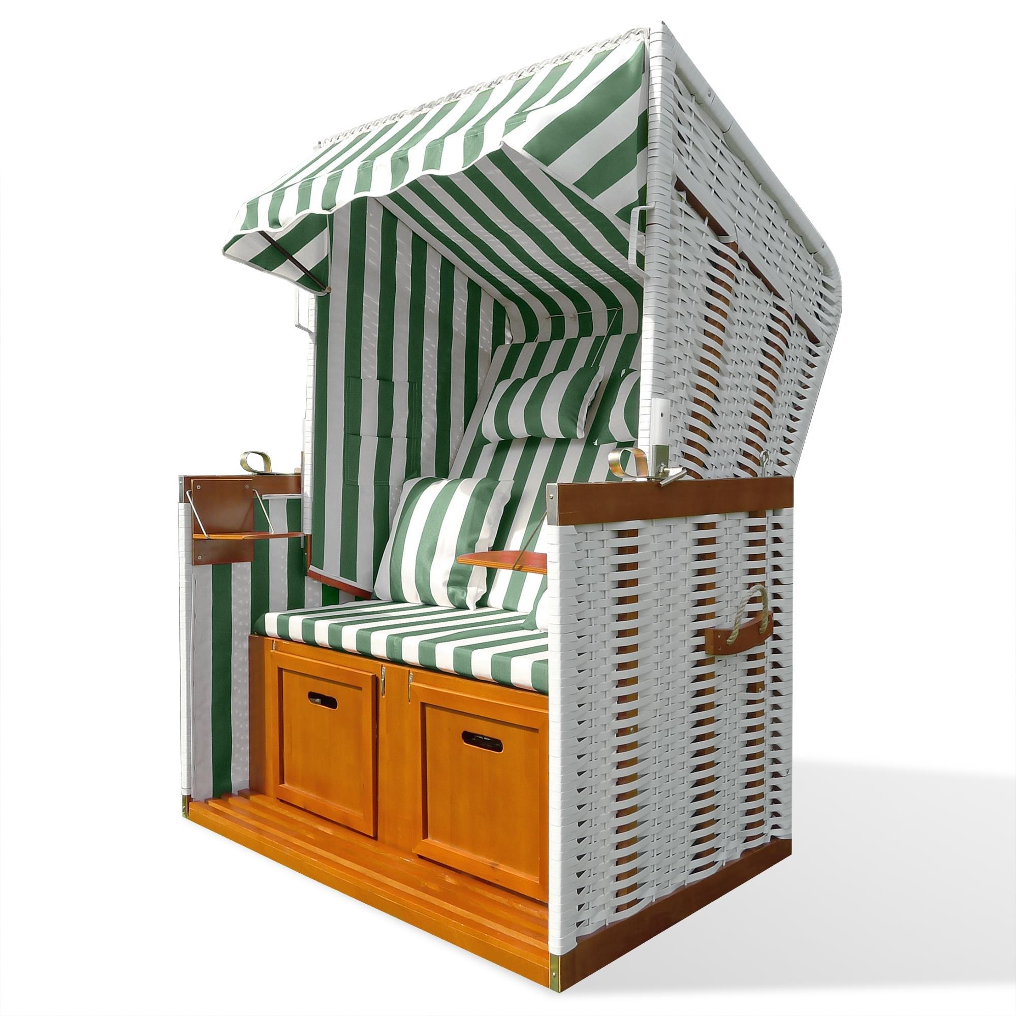 strandkorb strandk rbe garten liege fu st tzen klapptische blau gr n rot ebay. Black Bedroom Furniture Sets. Home Design Ideas