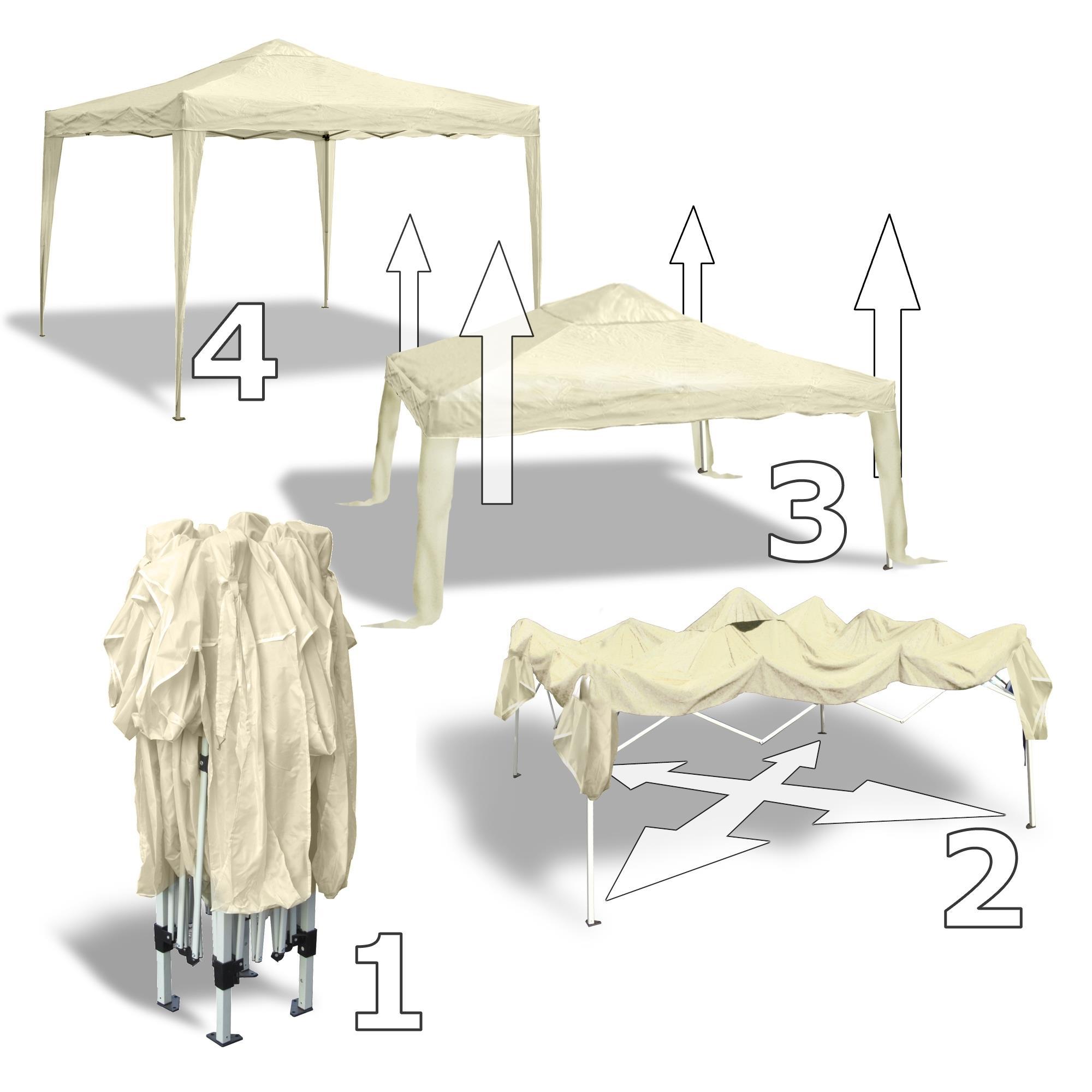 gartenpavillon wasserdicht falt pavillon bahama iii bestseller shop. Black Bedroom Furniture Sets. Home Design Ideas
