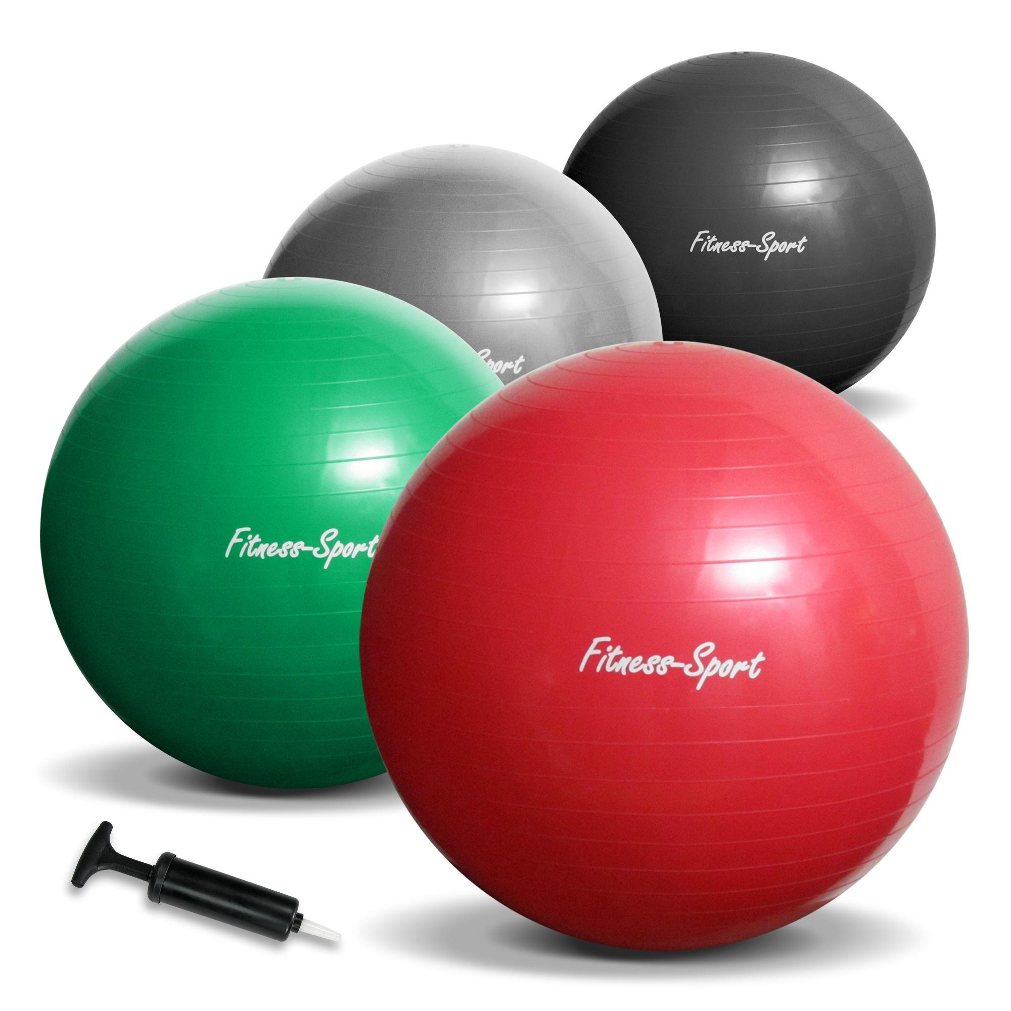 gymnastikball 65 75 85 cm 300 kg b rostuhl sitzball fitnessball pilates pumpe ebay. Black Bedroom Furniture Sets. Home Design Ideas