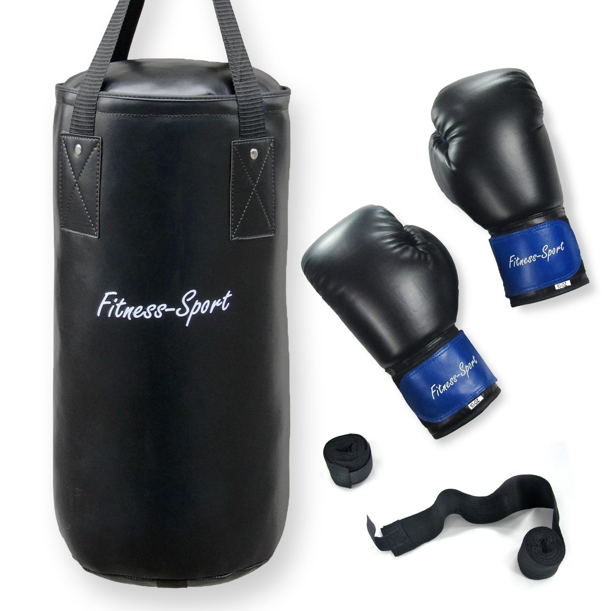 box set f r erwachsene fitness sport boxsack 12 kg mit ein paar boxhandschuhen 10 kaufen bei. Black Bedroom Furniture Sets. Home Design Ideas