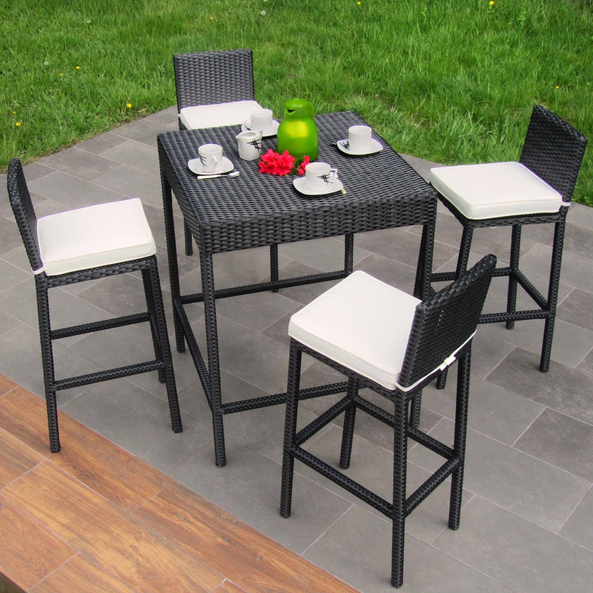 polyrattan gartenmobel bar interessante. Black Bedroom Furniture Sets. Home Design Ideas