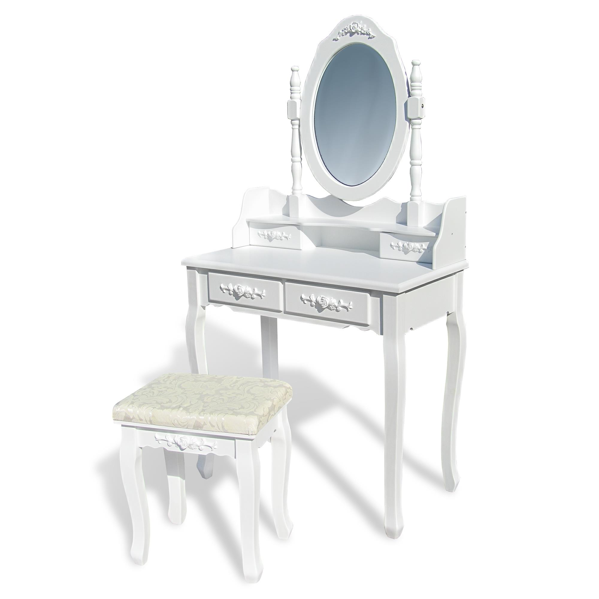 schminktisch frisiertisch kommode kosmetiktisch spiegel. Black Bedroom Furniture Sets. Home Design Ideas