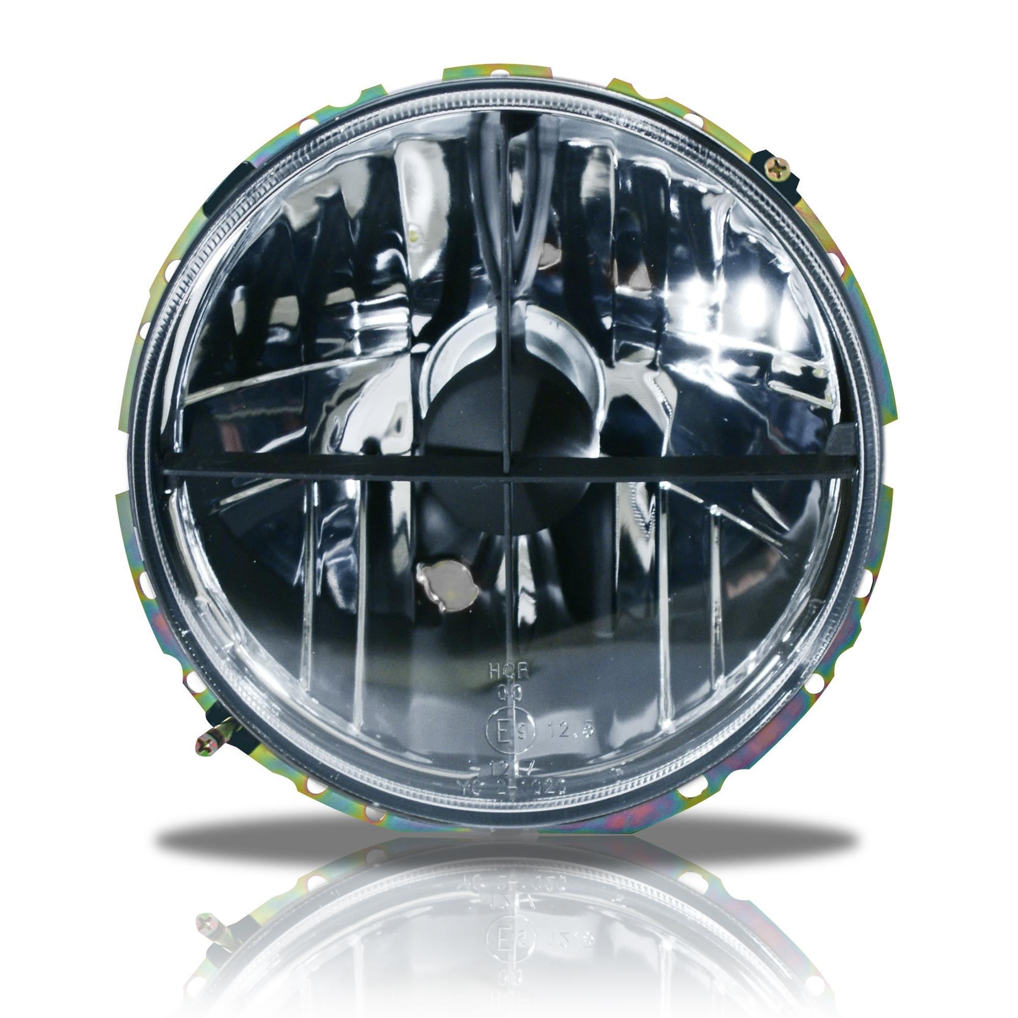schwarze scheinwerfer mit fadenkreuz vw caddy 1 vw golf 1. Black Bedroom Furniture Sets. Home Design Ideas