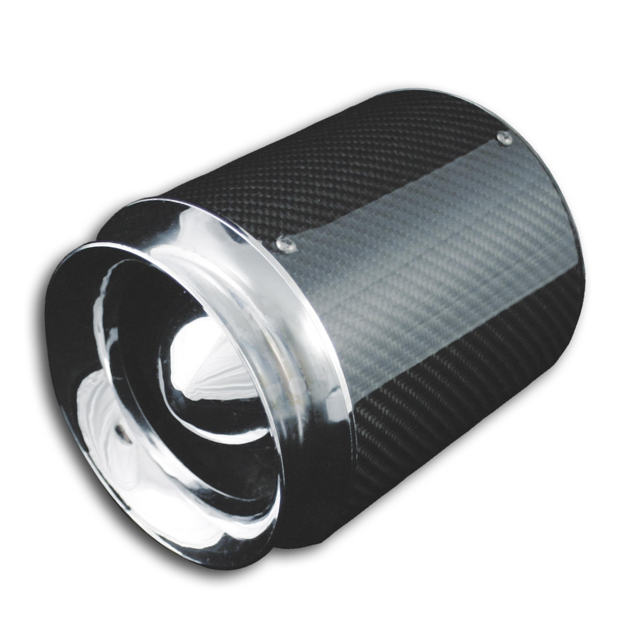 Filter Jom Sportluftfilter Chrom Universal Motor Sport §21 60-90mm Luftfilter