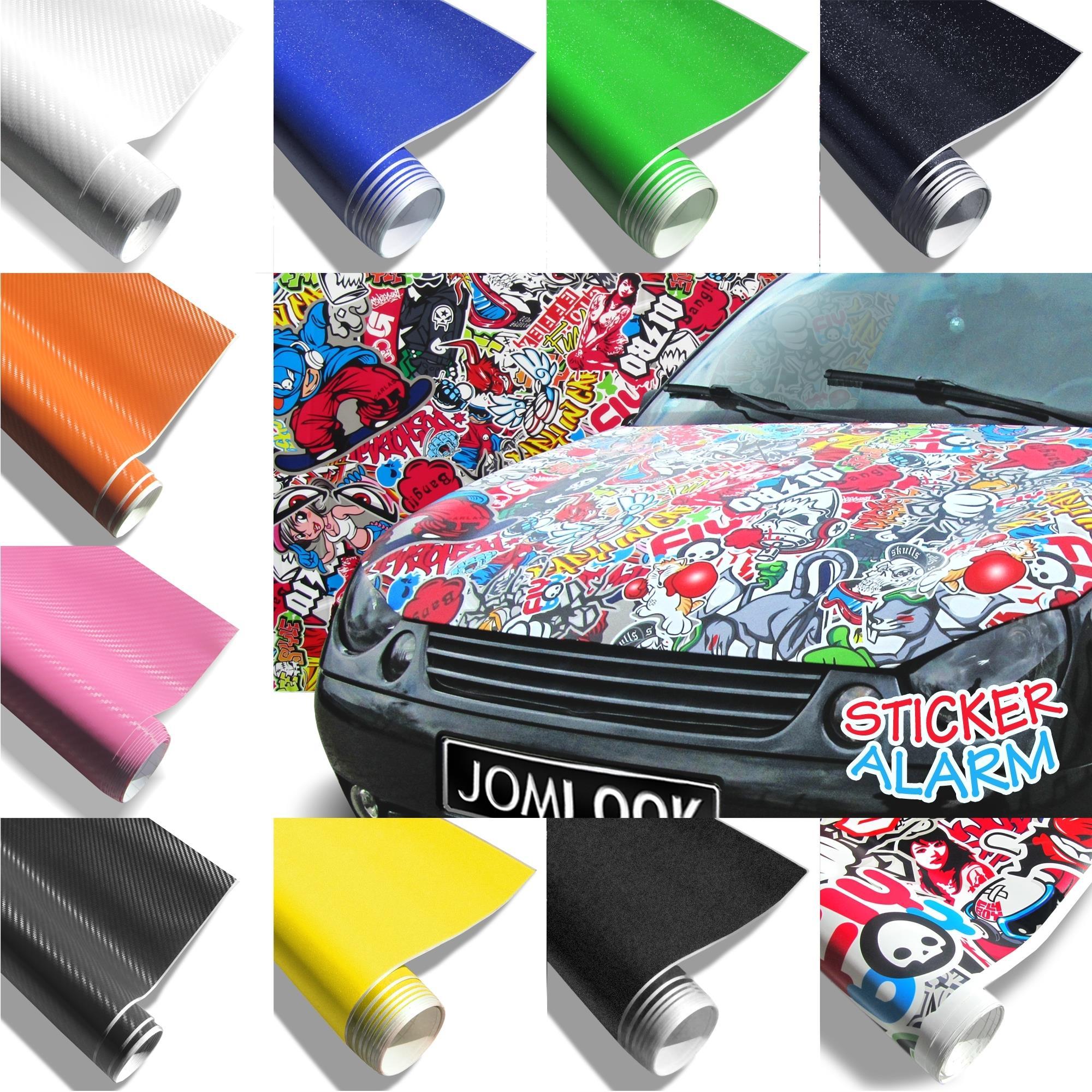 carbon folie matt sticker bomb folie auto deko klebe folie. Black Bedroom Furniture Sets. Home Design Ideas