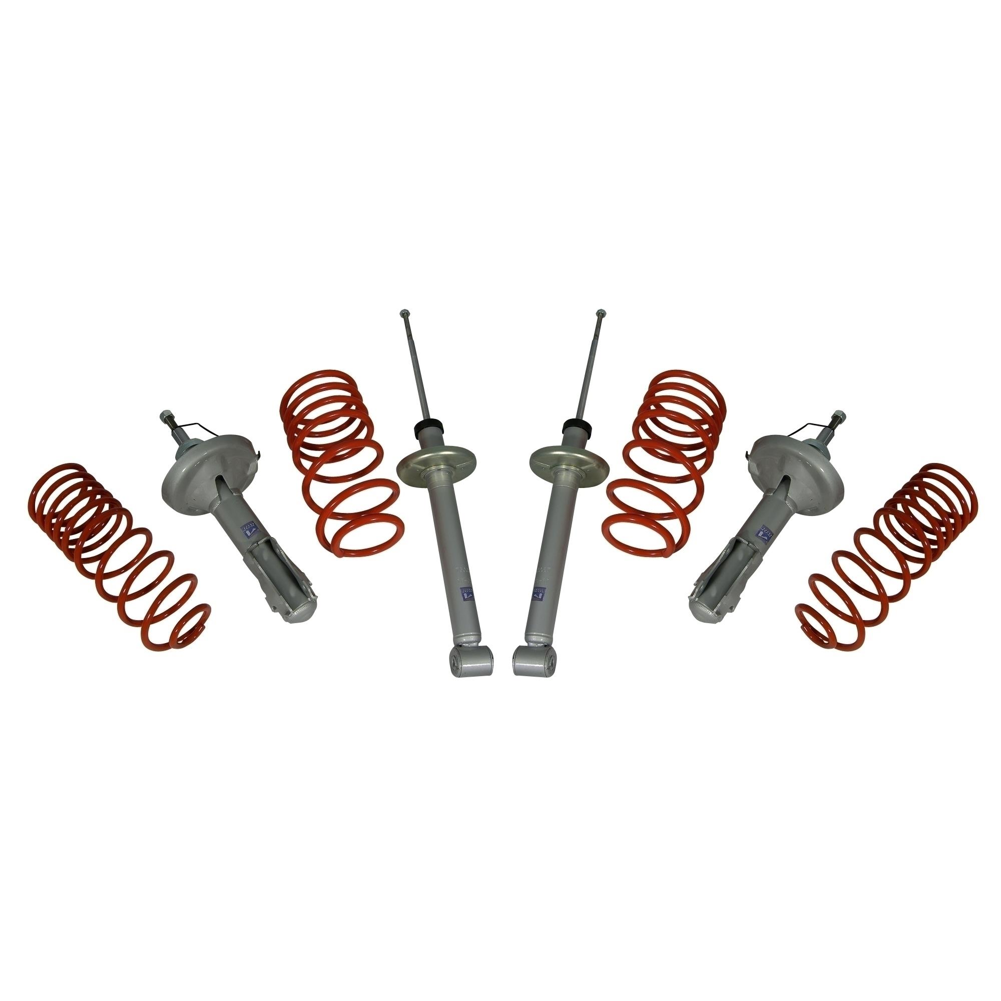 JOM - JOM suspension kit Audi A3 1,6 (strut 54,60mm) type 8P, KW 75-85, 05/2003-, 40mm, T�V approved - 761087