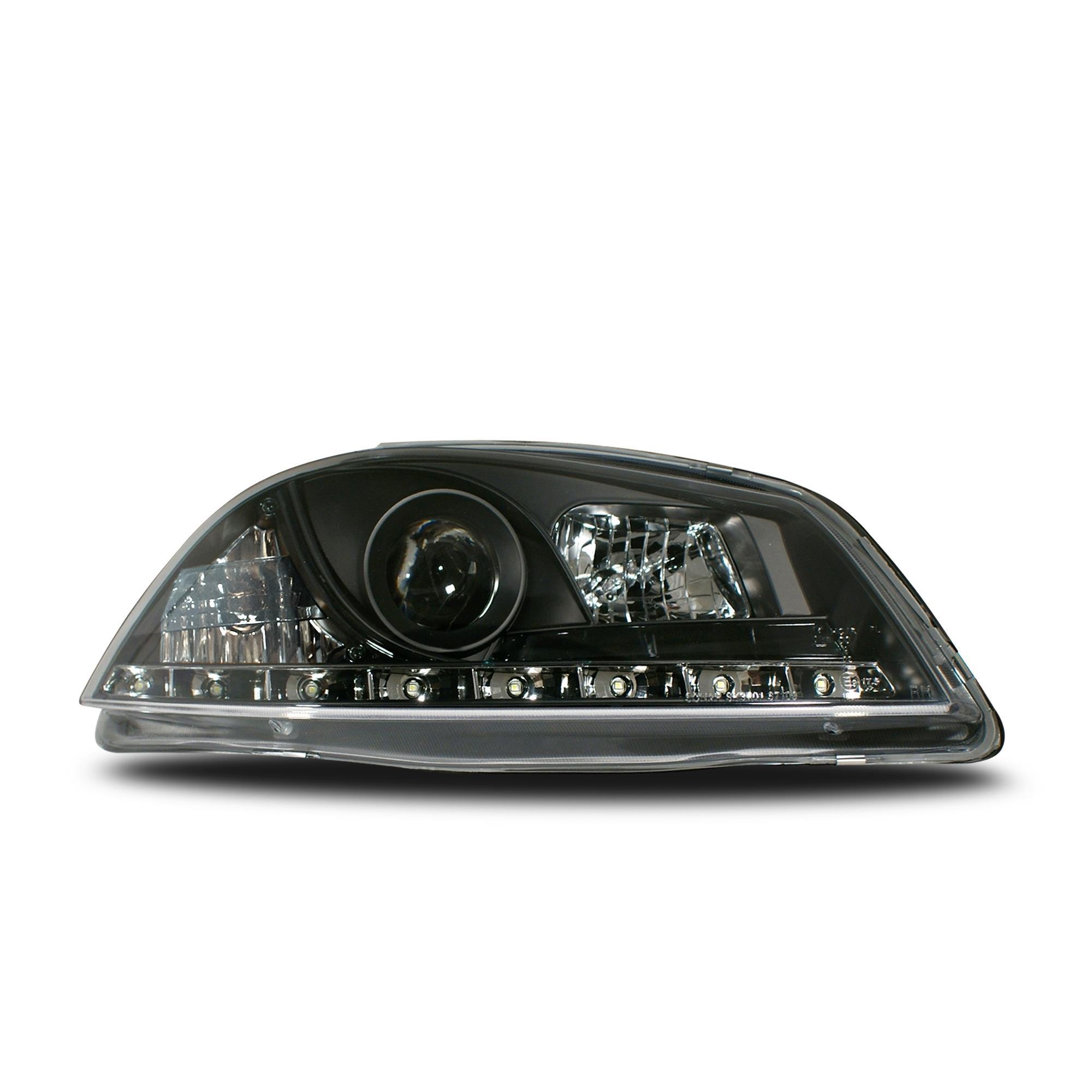 led front scheinwerfer seat ibiza 6l 02 08 tagfahrlicht. Black Bedroom Furniture Sets. Home Design Ideas