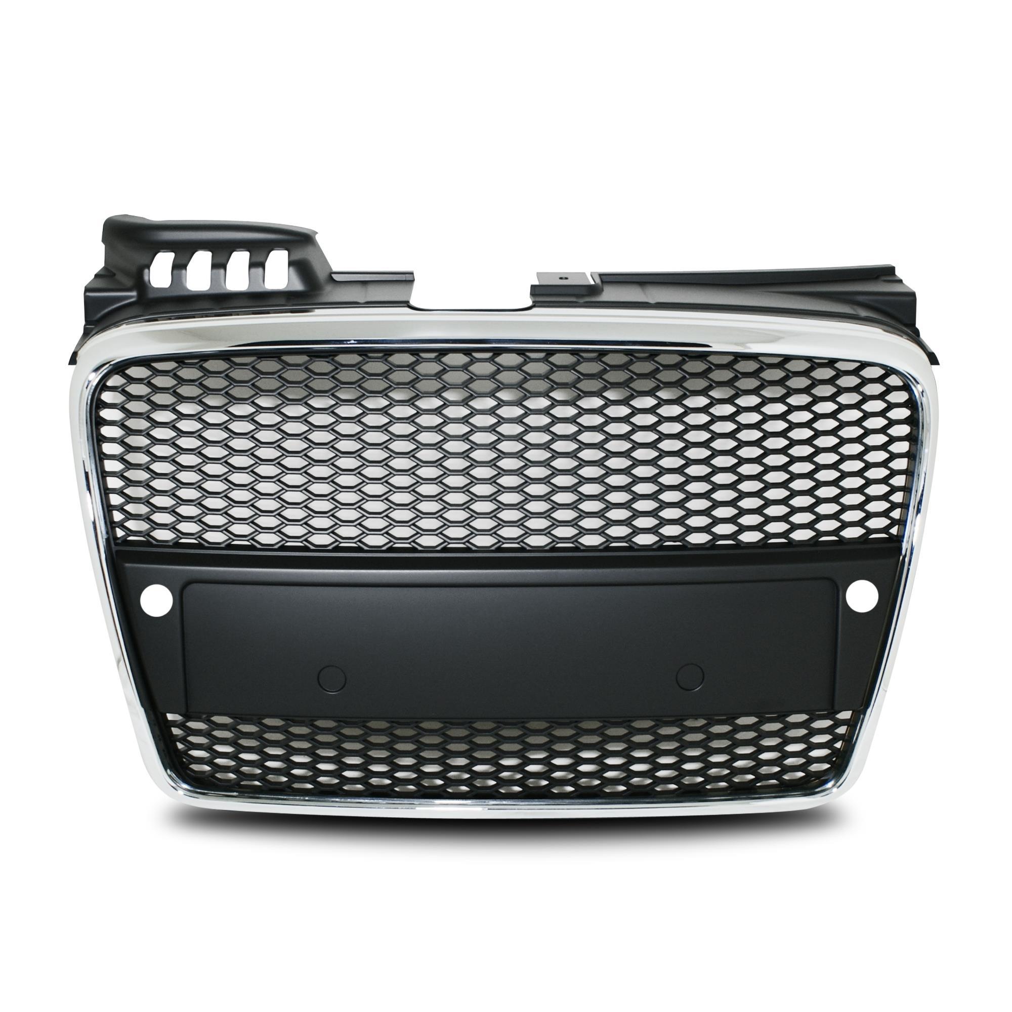 K hlergrill sport grill audi a4 8e b7 waben gitter schwarz for Fenster sparfuchs