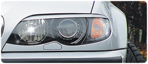 Headlight brows