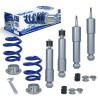 BlueLine Gewindefahrwerk passend für für VW T4 Transporter , für Syncro, für Caravelle und Bus Baujahr 1991 - 2003
