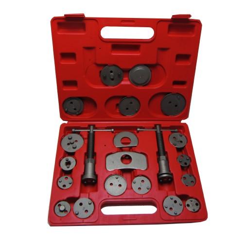 Set de repousse piston d'étrier de frein, 22 pièces avec broches tournantes à gauche et à droite, avec caisse en plastique
