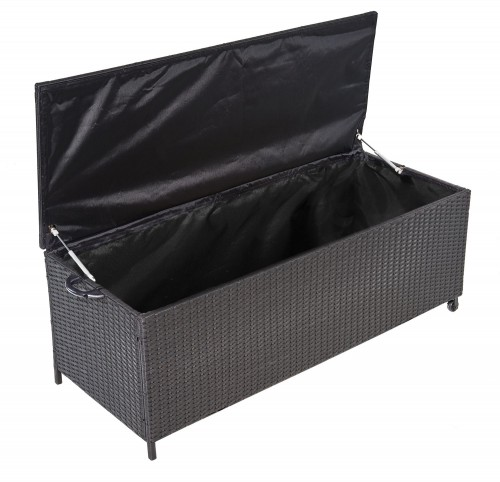 waterproof rattan garden storage Box aluminim