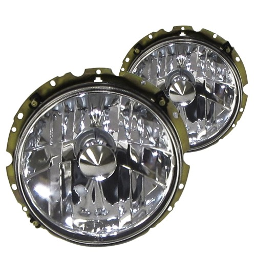 Headlights cleaglass, chrome suitable for VW Golf 1