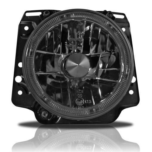 AE-Design Scheinwerfer mit Halogen Ring passend für VW Golf 2