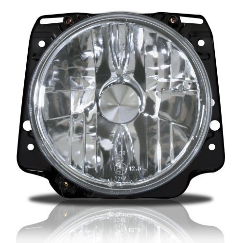 Headlights clearglass chrome suitable for VW Golf 2