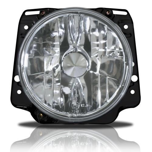 Scheinwerfer, H4, klarglas/chrom passend für VW Golf 2