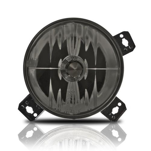 Fernscheinwerfer Klarglas verstärkt schwarz passend für VW Golf 2 Bj. 8.87-, Golf 1 Cabriolet Bj. 8.87-