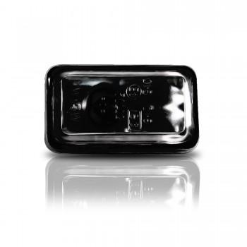 Seitenblinker, Klarglas / schwarz passend für VW Golf 1-2, Bj. -9/91, Polo Bj. -94, Audi (80, 90, 100, 200, V8), Porsche