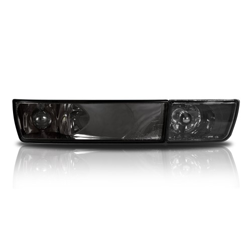 Blinker, Umrüstsatz, mit Nebelscheinwerfer, Klarglas / schwarz passend für VW GOLF 3