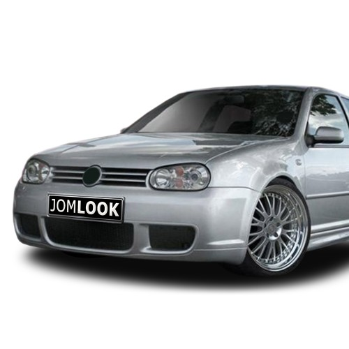 Front bumper in racing design suitable for VW Golf 4